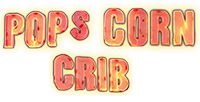Pop's Corn Crib | Gourmet Popcorn – Crystal Lake, IL Logo